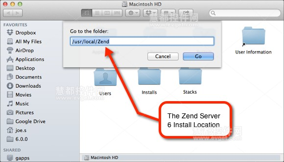 zend server安装路径