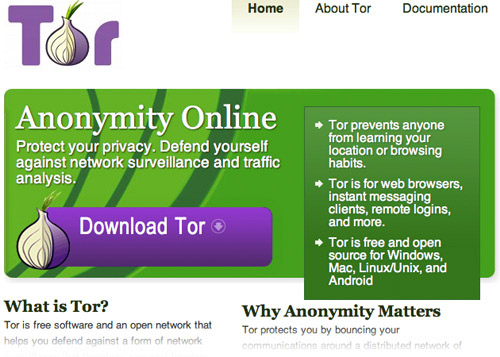 the tor project