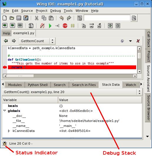 Python开发环境Wing IDE使用调试功能详解- 缘分已尽奈何缘浅的