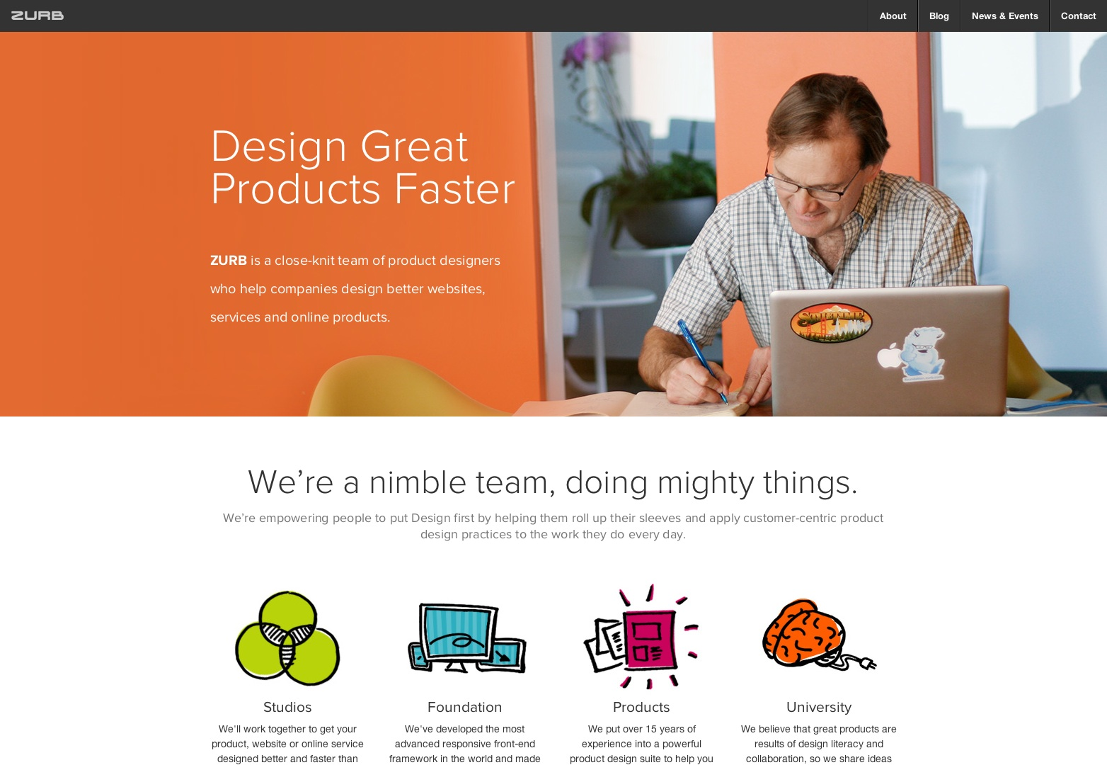 ZURB — Product Design, Interaction Design & Design Strategy