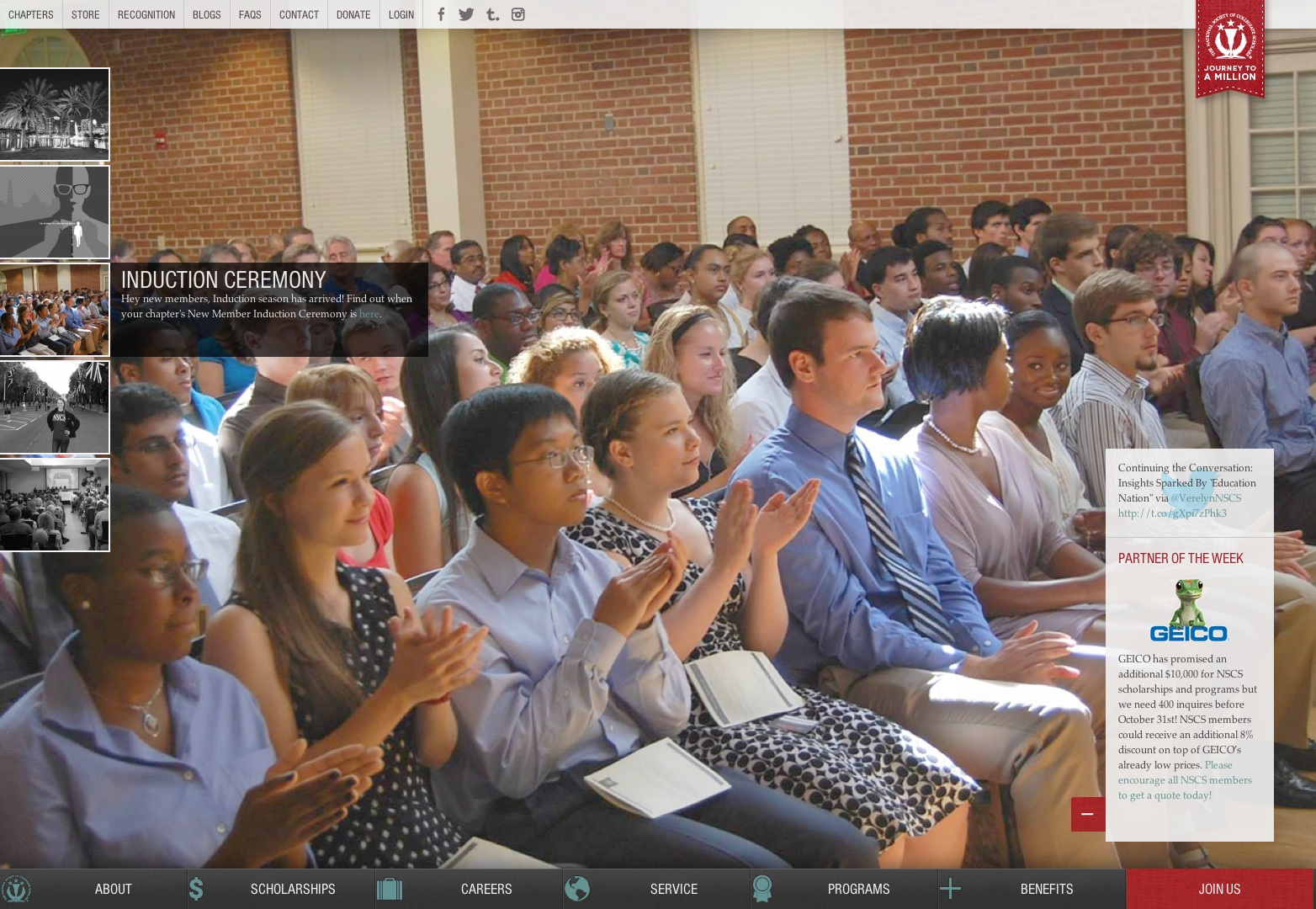 The National Society of Collegiate Scholars |