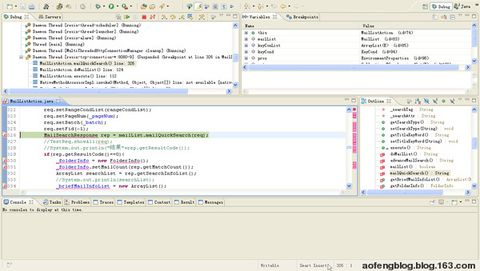 无插件使用Eclipse和Resin调试WEB应用(Debug Web App In Eclipse and Resin Without Plugin) - 傲风 -
