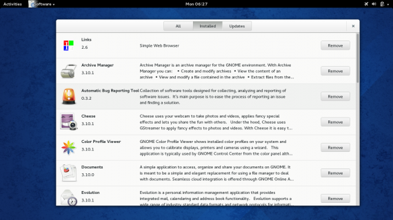 Fedora 20 gnome software center 09