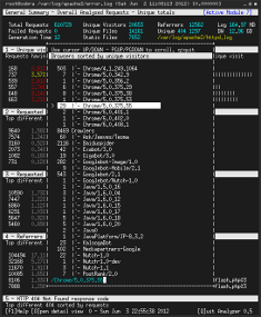 最佳 Nginx 日志分析工具 GoAccess   Best Nginx log analyzer 4a9096e679782f92