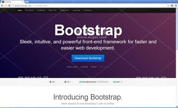 Bootstrap,Twitter,开源前端框架,Github,响应式Web设计工具