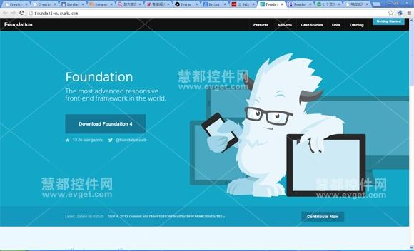 Foundation,响应式前端框架