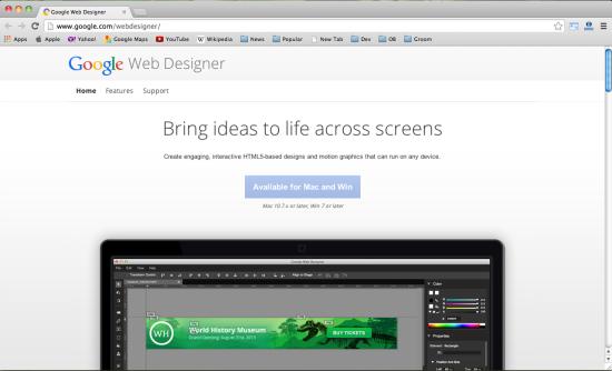 google-html5-tool