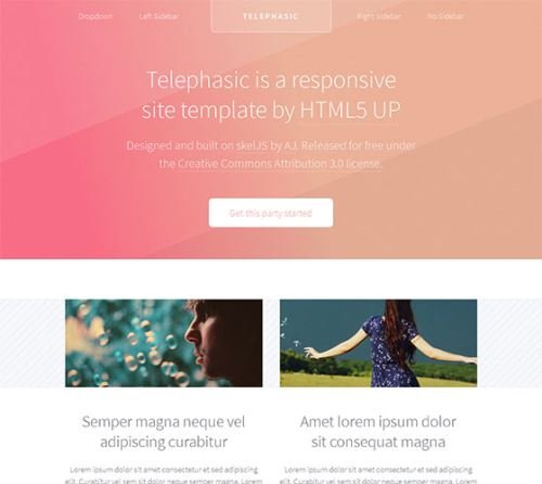 CSS3HTML5Templates-2