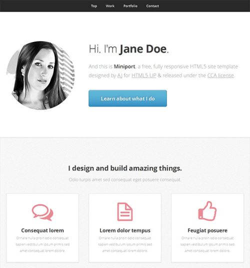 CSS3HTML5Templates-20