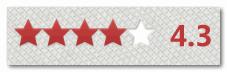 星星评分效果