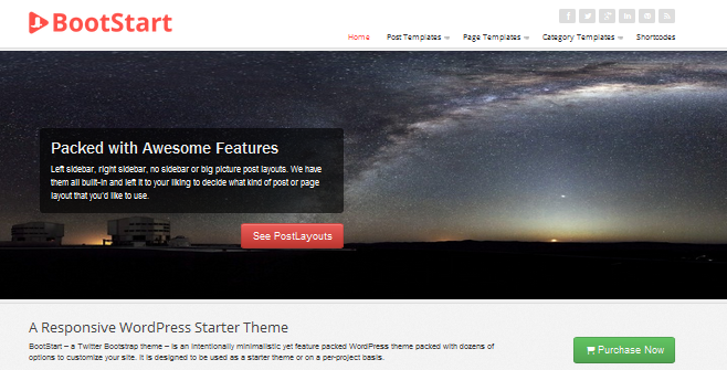 bootstrap wordpress framework 6