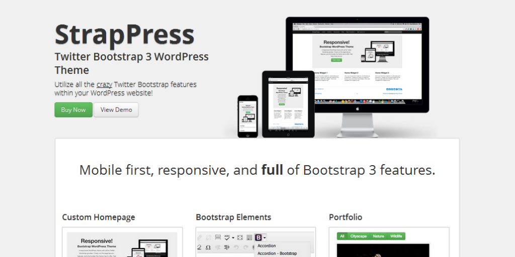 bootstrap wordpress framework 8