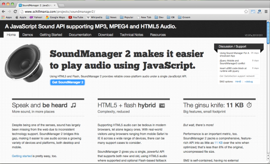 soundmanager