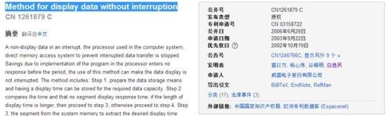 上海联彤网络通讯技术有限公司CEO白逸民曾经以威盛电子股份有限公司身份进行过专利申请