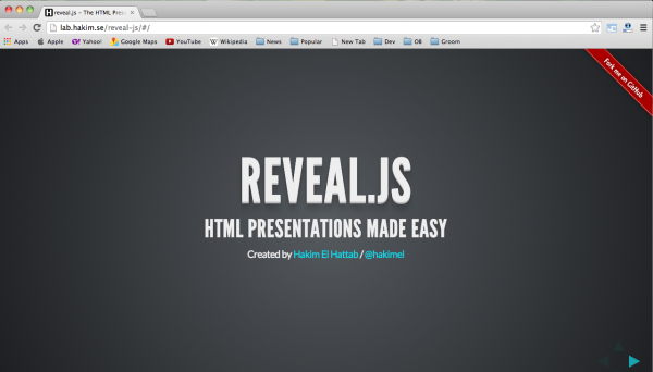 reveal-presentation-framework