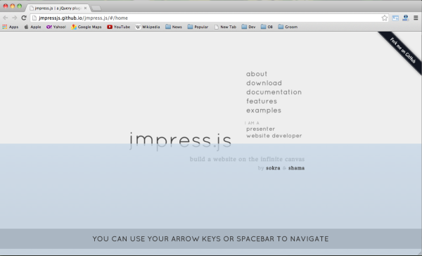 jimpressjs-presentation-framework