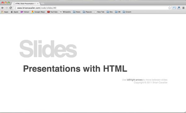 slide-presentation-framework