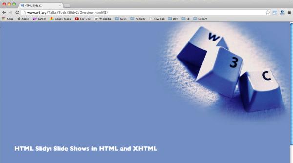 html-slidy