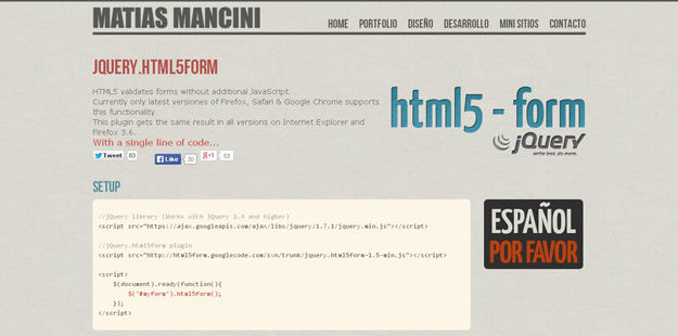 html5form