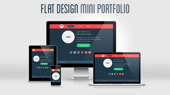 flat-design-mini-portfolio-featured