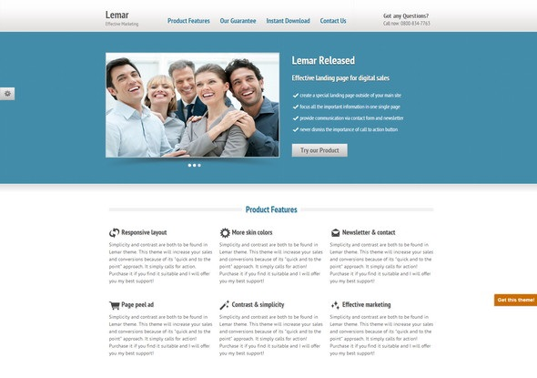 Lemar Theme - Responsive