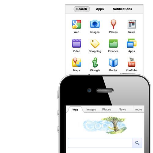 multidevice layout patterns: Google off screen