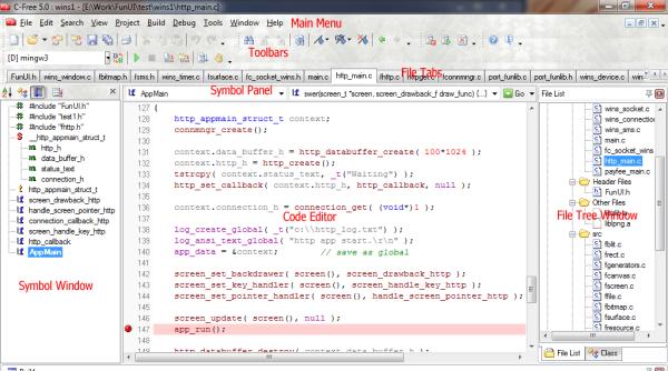 c:c++ compiler