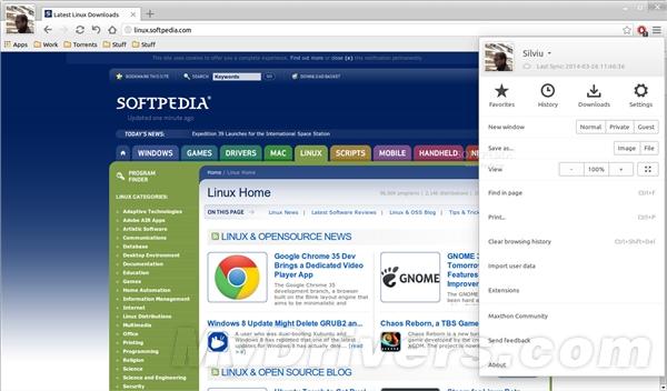傲游浏览器正式进军Linux