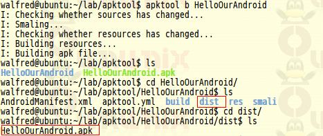 使用android-apktool来逆向(反编译)使用APK