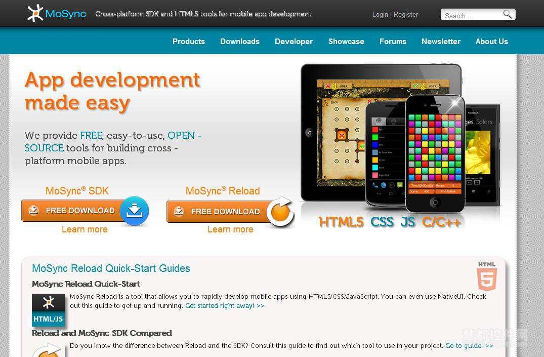 8款功能强大的开源移动开发工具