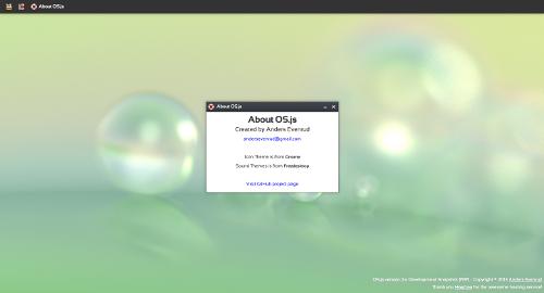Web/Cloud 桌面解决方案 OS.js