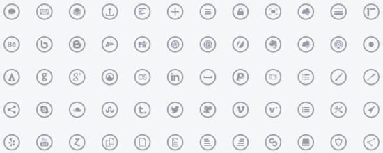 2014年25套新鲜热辣免费的图标字体-来自沈超飞的IT博客 第2张