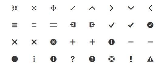 2014年25套新鲜热辣免费的图标字体-来自沈超飞的IT博客 第6张