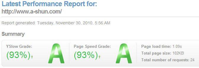 YSlow 和 Page Speed 优化