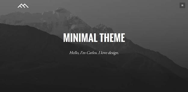 minimal dark