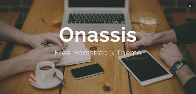 30 个免费的 Bootstrap 模板
