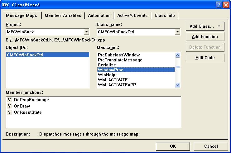 标准MFC WinSock ActiveX控件开发实例(基础篇) - 极限ぷ英豪 - 烟雨楼