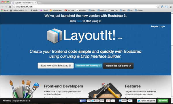 Best bootstrap tools for web designers-layoutit