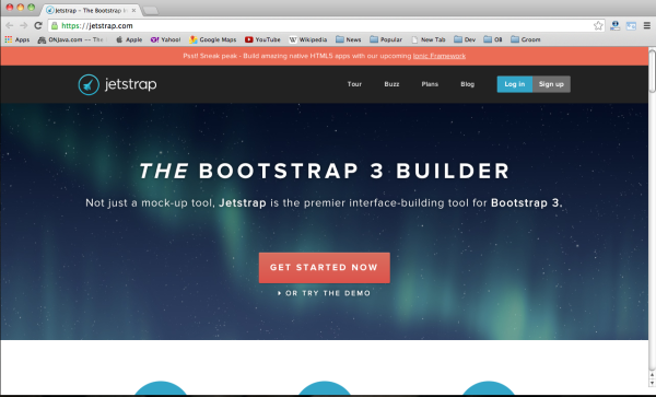 Best bootstrap tools for web designers-jetstrap