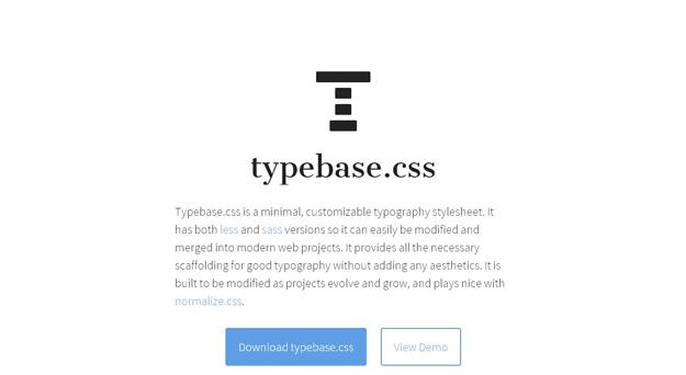 typebasecss