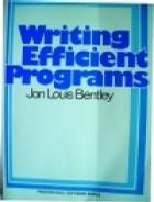 Writing Efficient Programs