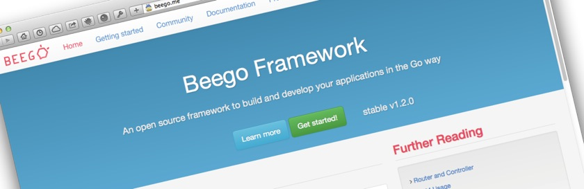 Developing a web application with Beego - Part 2
