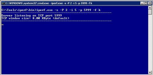 简单的iperf命令 实现快速网络检测