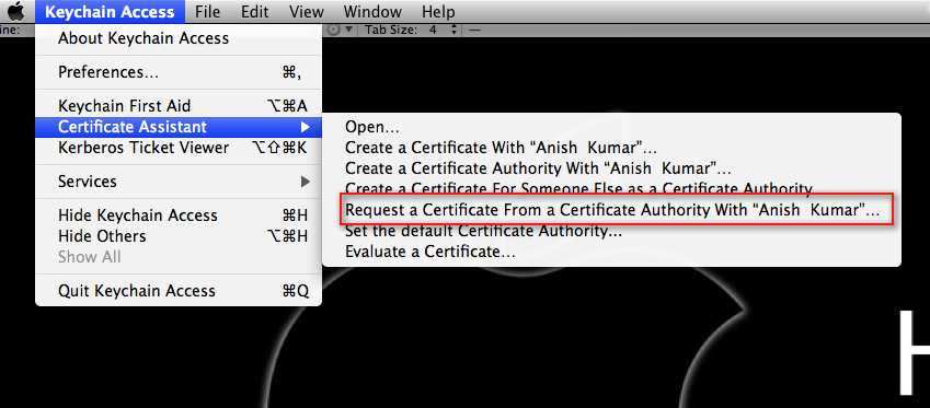 how to find a certificate of my rsa tas