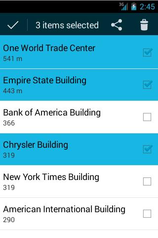 Android / 手机 / 平板 给列表(ListView)提供多选框功能(Multiple Choice)的Adapter,从而可以很方便让ListView支持多选功能。除了ListView,这个Adapter也可以用在GridView中。