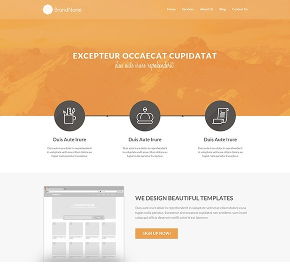 Clean-HTML5-Template