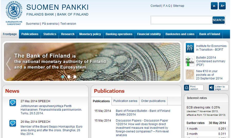 Bank of Finland(芬兰银行)
