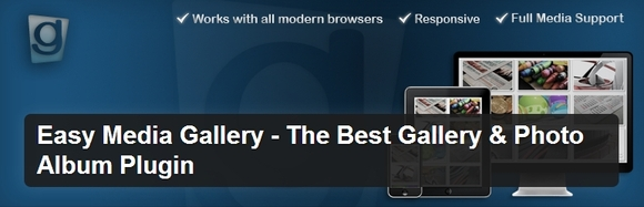 Easy Media Gallery - wordpress plugins