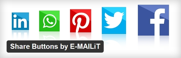 Share Buttons by E-MAILiT - wordpress plugins review