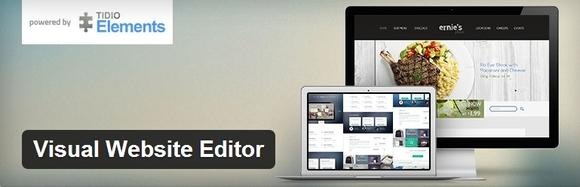Visual Website Editor - top wordpress plugin
